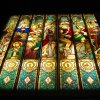 Sacrament Symbols - Adoration Chapel - St. John Newmann - Austin TX – 160 sf. -  yr. 2014