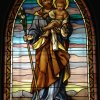 St Joseph with Child - Monastery of the Mater Ecclesiae - Lagos  NG - 40 sf. -  yr. 2010